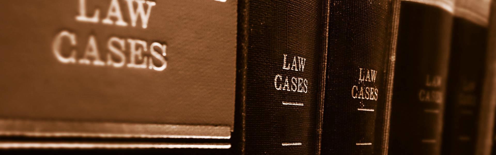 many books about law cases